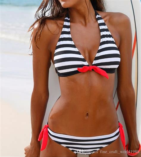 aaa swimsuit 2017 aaa new 2017 women swimsuit swimwear halter top plaid