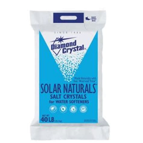 Diamond Crystal Solar Naturals Water Softener Salt