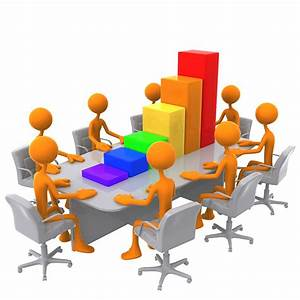 Meeting Clipart Free Stock Photo 3D bar graph meeting # 9551