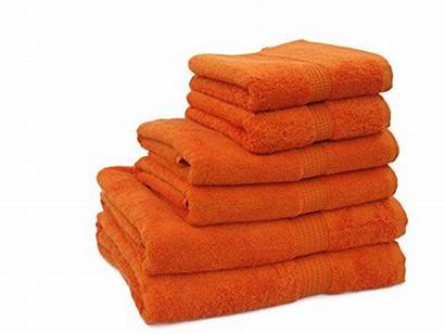 Egyptian Cotton Towels Orange Towel Pure Shopods