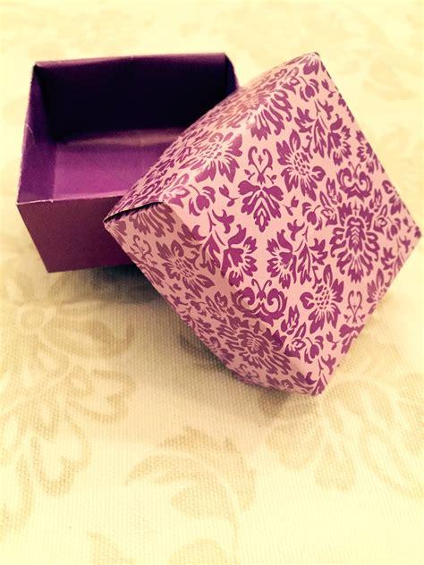 Schachtel Falten  Geschenkverpackung  Origami Geschenke