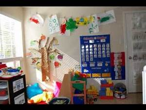 Daycare room decorating ideas - YouTube