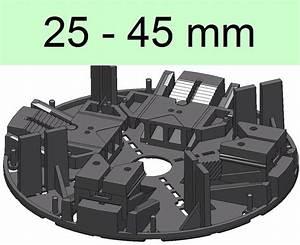 Stelzlager Höhenverstellbar Für Terrassenplatten : 32 stelzlager 25 45mm h henverstellbar plattenlager stellfu terrasse ~ Frokenaadalensverden.com Haus und Dekorationen