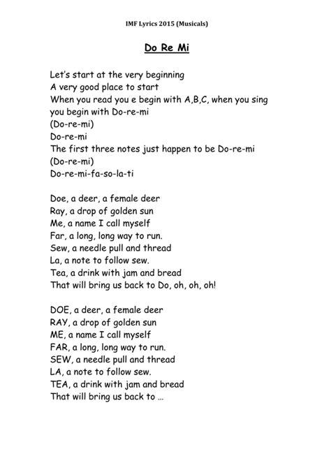 Cgcfcfgcdo re mi fa so la ti do. Doe Ray Me Fa So La Ti Do Lyrics - LyricsWalls