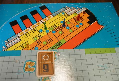 Titanic Boat Game by The Sinking Of The Titanic Board Game Review Geeky Hobbies