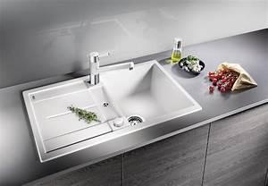 Spülbecken Für Küche : sp lbecken k che wei ~ Michelbontemps.com Haus und Dekorationen