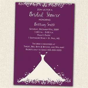 bridal shower invitations bridal shower invitations With free online wedding invitations canada