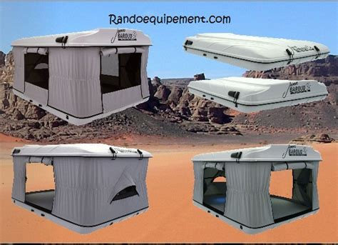 coffre de toit tente tente de toit baroud grand raid baroud j baroud 4x4 accessoires rando equipement