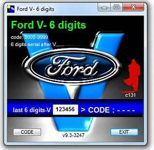 Code Autoradio Ford : d blocage autoradio ford v serie v6000 v7000 gratuit ~ Mglfilm.com Idées de Décoration