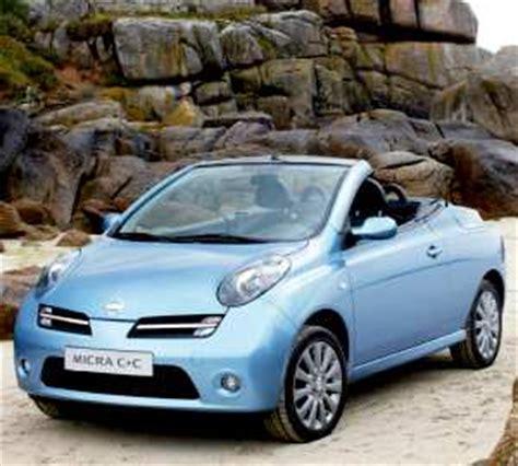 nissan micra cc  specifications fuel economy