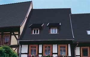 Dachziegel Anthrazit Glasiert : dachziegel serie opal berliner biber 18 38 von braas ~ Lizthompson.info Haus und Dekorationen