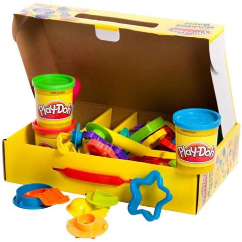Kids Playdoh Super Moulding Mania Playset With 45