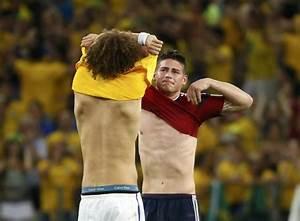 World Cup 2014 Quarterfinal Match Report: Brazil 2 ...