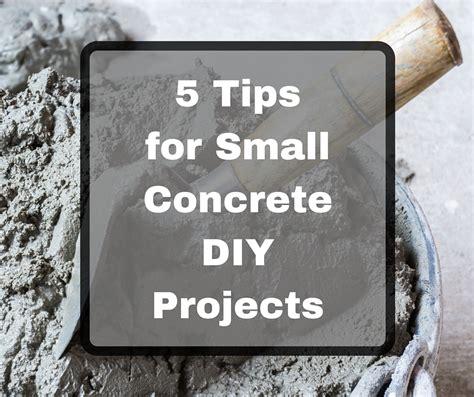 concrete forming tips tips for small building projects forming america