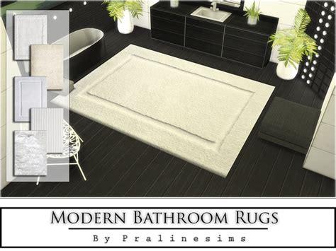 Modern Bathroom Rugs By Pralinesims