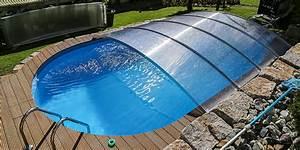 Poolüberdachung Ohne Schienen : schwimmbad berdachung selber bauen flexiroof poolabdeckung ~ Markanthonyermac.com Haus und Dekorationen