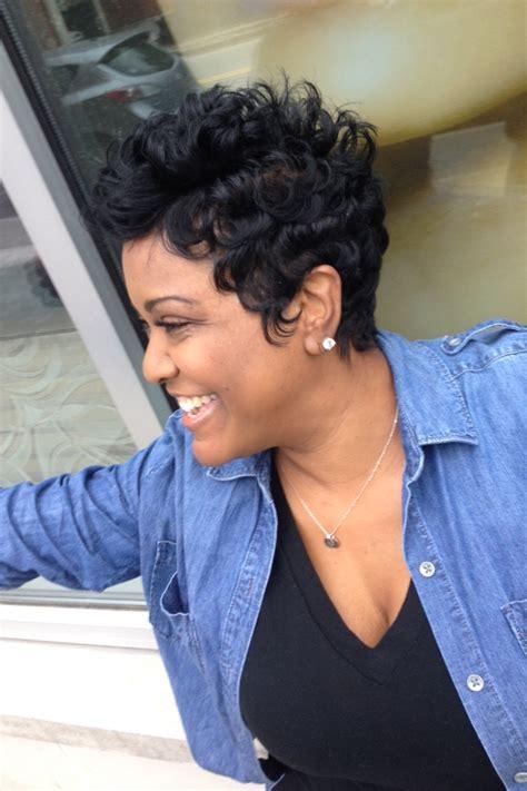Short Hair Rules At Like The River Salon Atlanta! Short