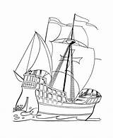 Coloring Pages Boat Fishing Boats Colouring Printable sketch template
