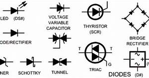 electrical wiring schematic diagram symbols diodes diy With electronics tricks and tips how to repair electronics choke
