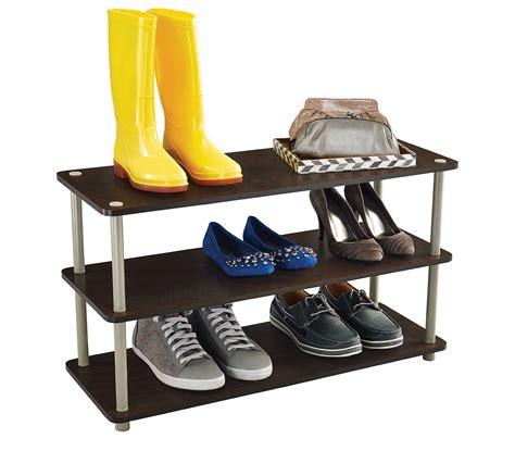 Closetmaid Shoe Organizer - closetmaid 3 tier shoe organizer ebay