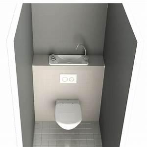 Petit Lave Main Wc : wc avec lave mains pas cher ~ Premium-room.com Idées de Décoration