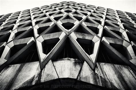 black  white modern architecture photography