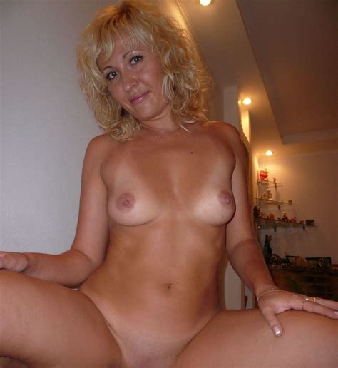 Russian Blonde Milf With Big Boobs On Vacation Russian