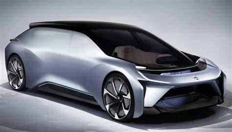 Nio New Selfdriving Electric Car Concept Wordlesstech