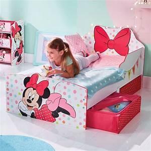 Minni Maus Bett : lit enfant achat lit enfant disney minnie mouse pas cher ~ Buech-reservation.com Haus und Dekorationen