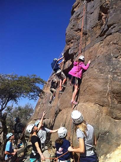 Climbing Rock Adventurer Oman Course Gems International