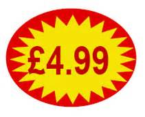 spa baskets price point promotional 4 99 label