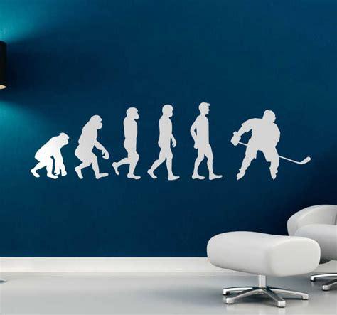 Sticker hockey évolution homme - TenStickers