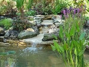 Mini Gartenteich Selber Bauen : wasserfall selbst bauen wasserfall im garten selber bauen 99 ideen wie sie die teich ~ Michelbontemps.com Haus und Dekorationen