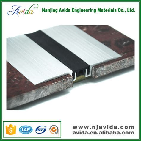 Aluminium Concrete Floor Expansion Joint Covers For