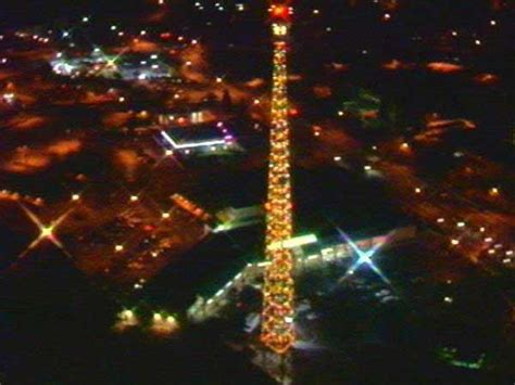 celebrate the season with wral tv as tower lights for