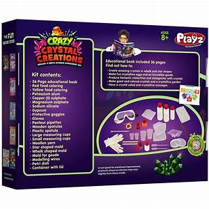 Crazy Crystal Creations Science Kit  U2013 Playz