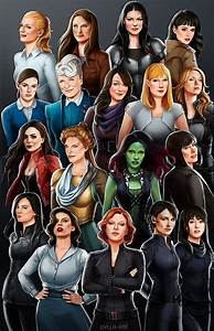 As, Female, Characters, Are, Indeed, Under