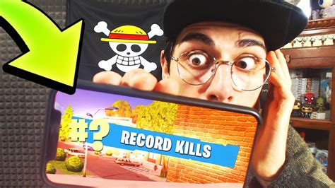 record  kills su mobile fortnite battle royale youtube