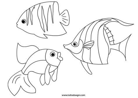 immagini di pesci da colorare e ritagliare pesci da stare e colorare tuttodisegni diseggi