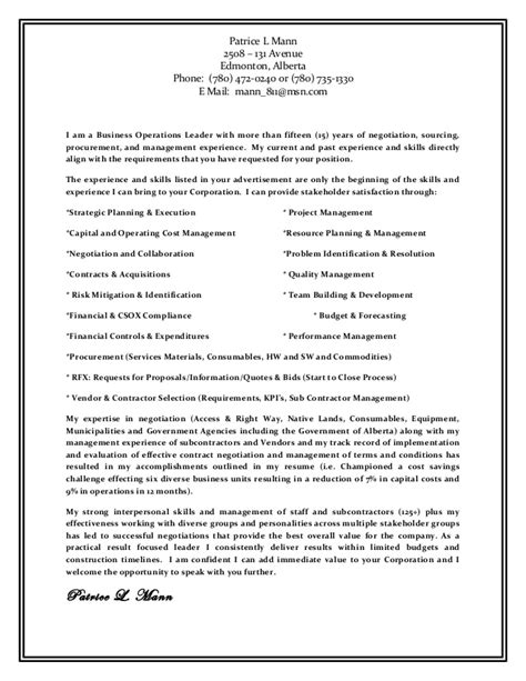 Combined Resume And Cover Letter by Resume And Cover Letter Combined Rev 1