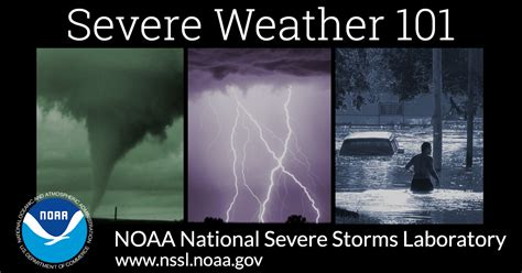 weather severe noaa types storms lightning thunderstorms thunderstorm national winter nssl hail storm tornadoes winds gov snow education laboratory warnings
