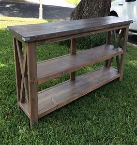 Pallets Farmhouse Style Console Pallet Ideas: Recycled
