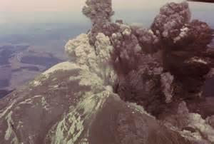 Mount St. Helens Eruption 1980