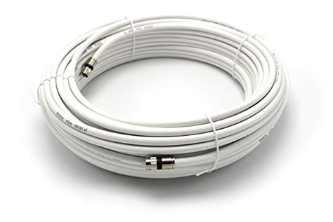 feet white rg coaxial cable coax cable