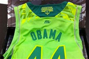Notre Dame Sends President Obama Neon Jersey After Uniform