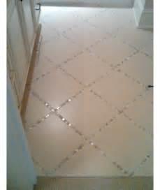 floor decor grout glass tiles instead of grout in the bathroom tile floor diy home decor ideas on a budget