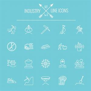 Industry outlines icons vector 01 - Life Icons free download