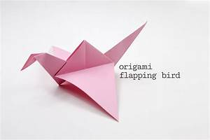 Origami Flapping Bird Tutorial
