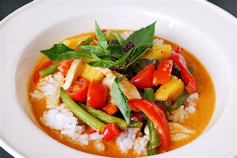 thai curry thai red curry with chicken recipe