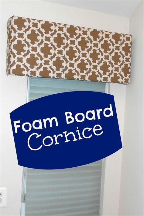 Foam Board Cornice Window Treatments by Cornice From Foam Board Pelmet Board Widow Treatment